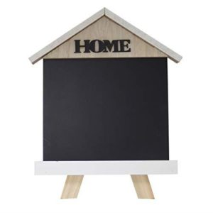 Home Office Desk Top free Standing Memo Blackboard