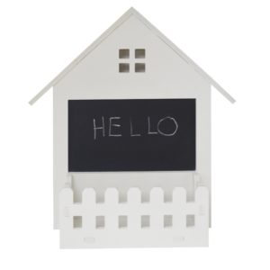 Wall Mounted Home House Shaped Memo Blackboard
